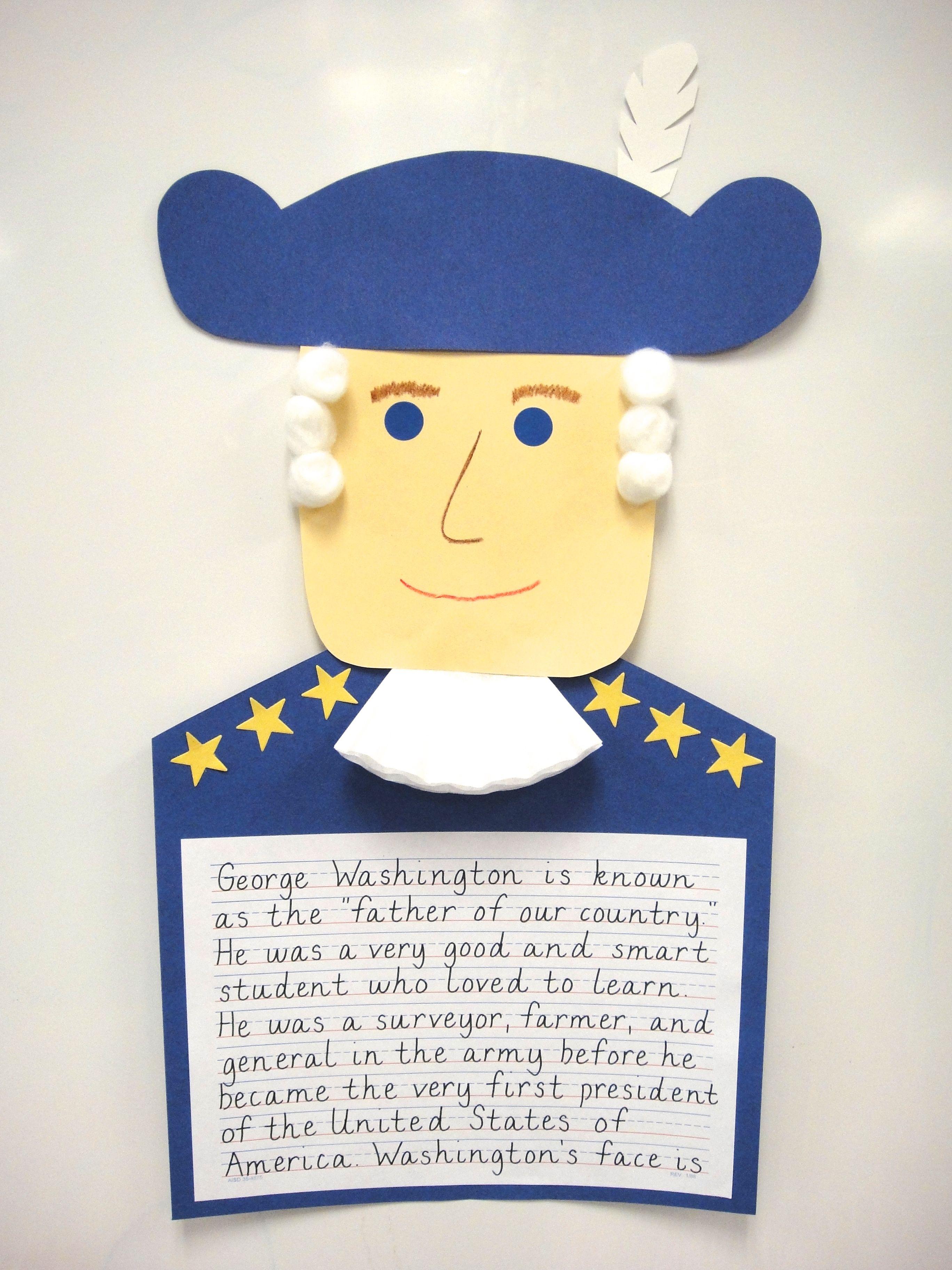 George Washington Presidents Day