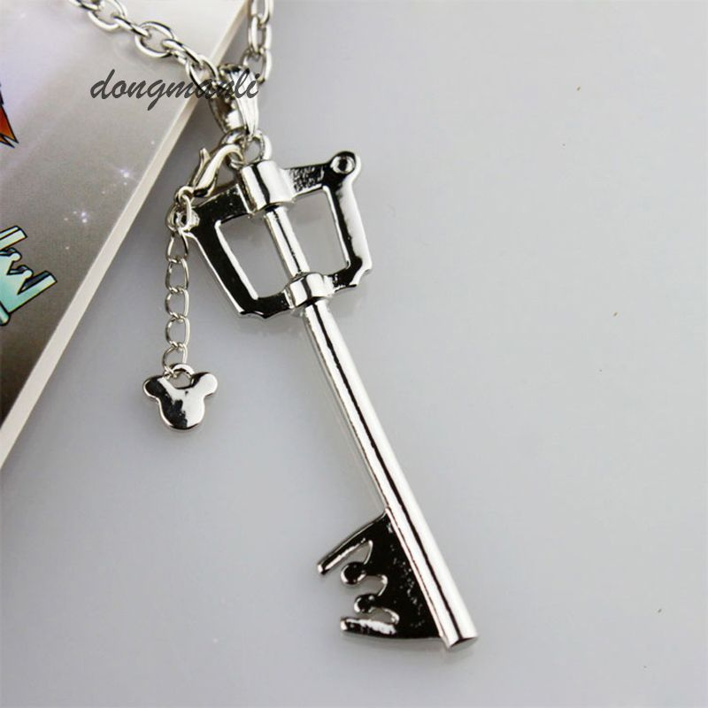 Game Kingdom Hearts Sora Alloy Metal Pendant keyblade Toy Collection Gift New
