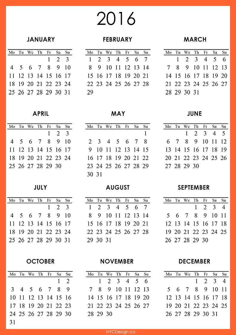 Calendar  Free Large Images  Stuff To Buy