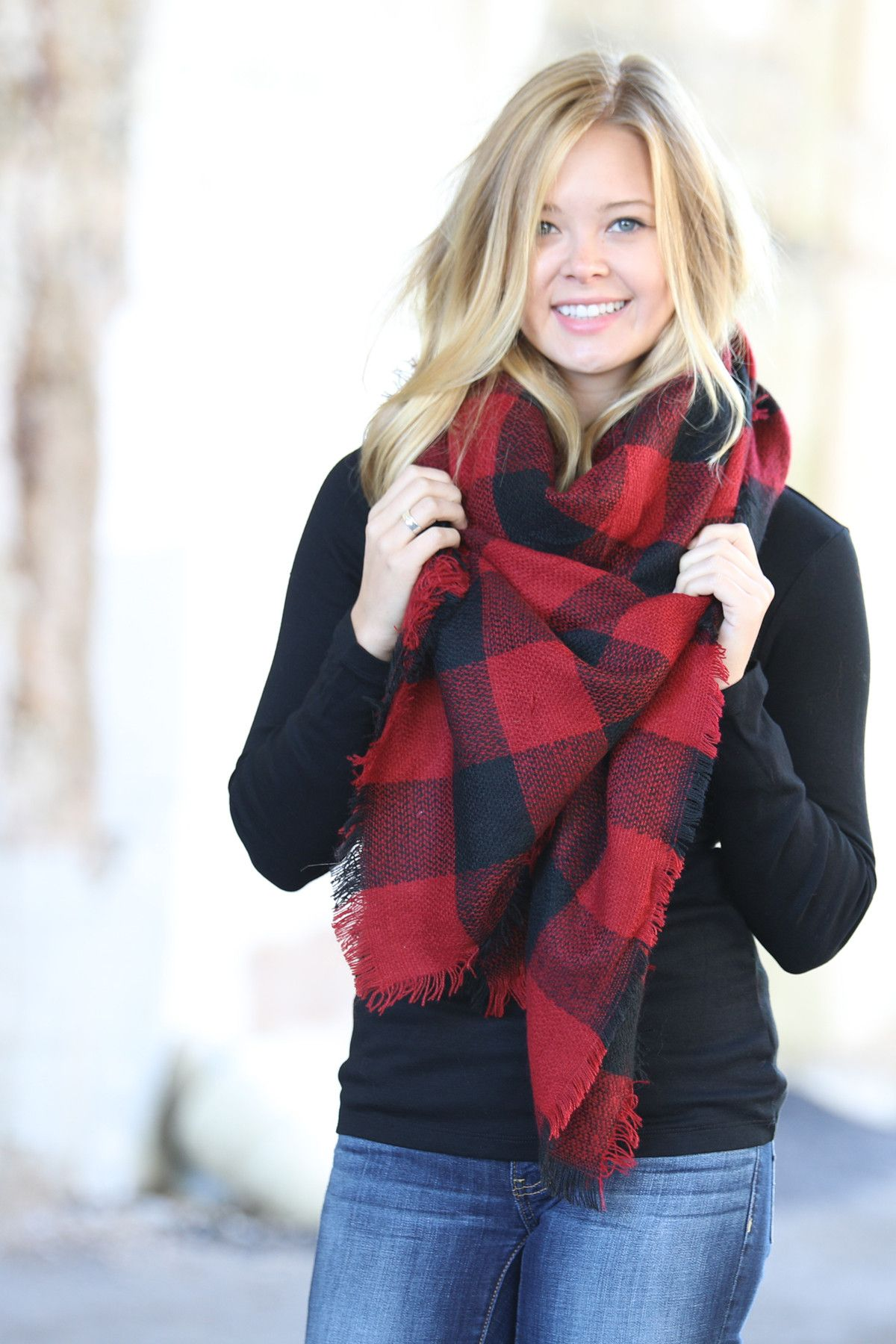 We are so excited to launch our 2016 Pattern Collection of blanket scarves! We LOVE the staple of plaid, but now we are bringing you a collection with beautiful patterned options! Same fabulous fabric