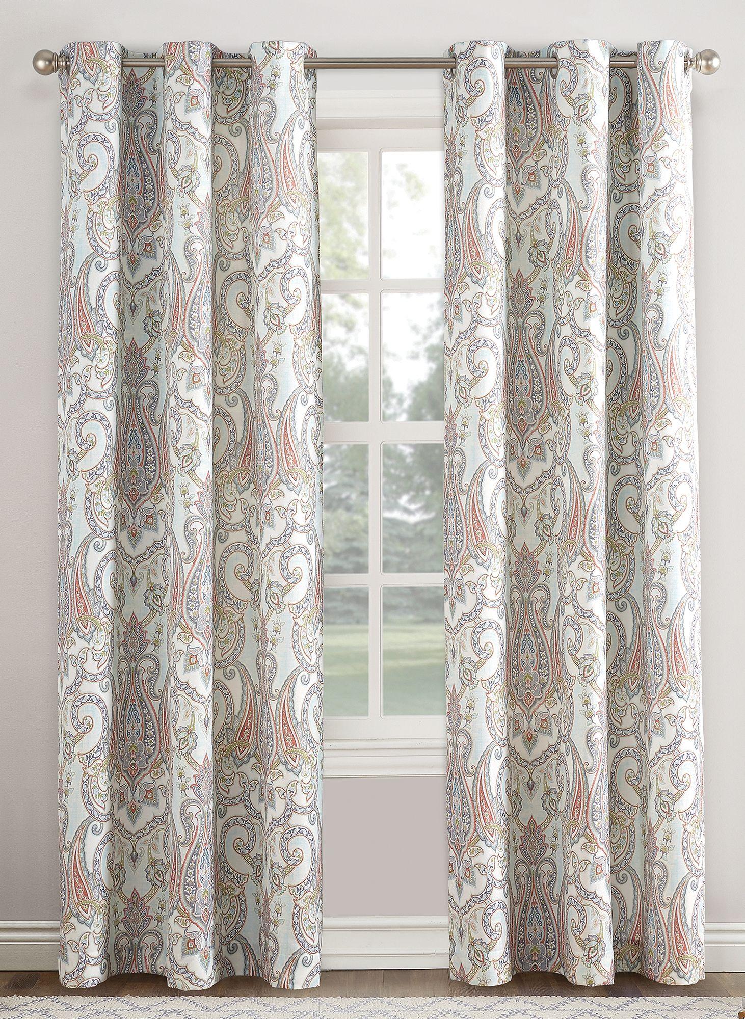 Liliana Grommet Curtain Panel Curtains Grommet Curtains