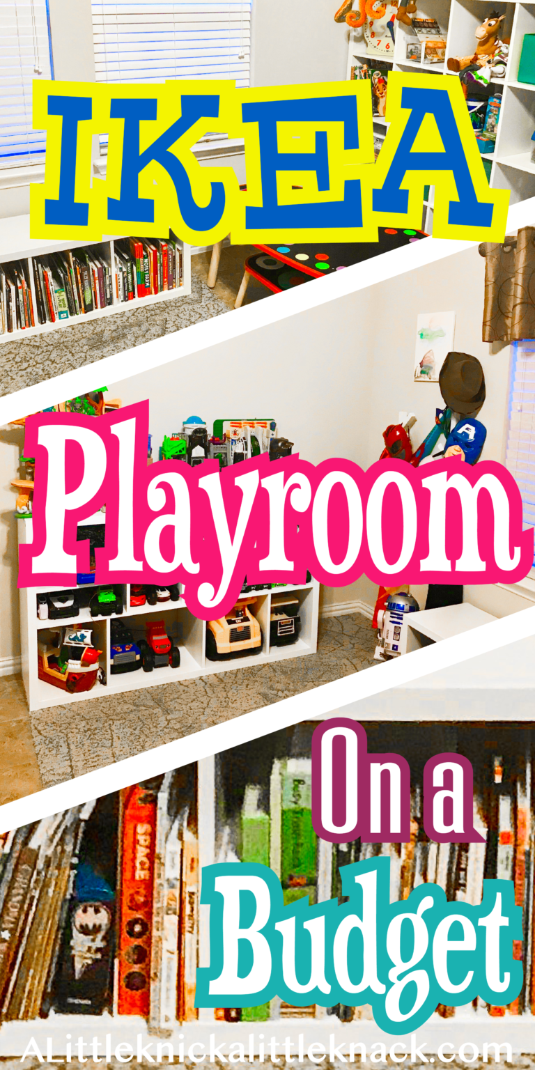 Photo of Playroom Makeover – A Little Knick a Little Knack
