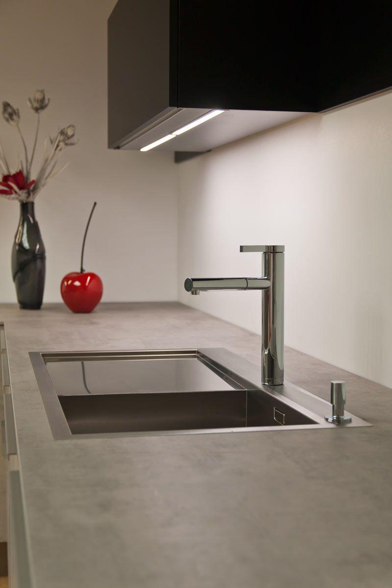 Nolte Stone Küche Spüle | WCH office in 2019 | Spüle küche, Küche ...