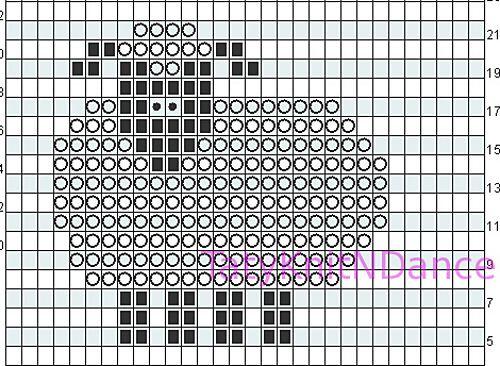 Big Baa chart pattern by Tatyana Chambers | Strickmuster | Pinterest ...