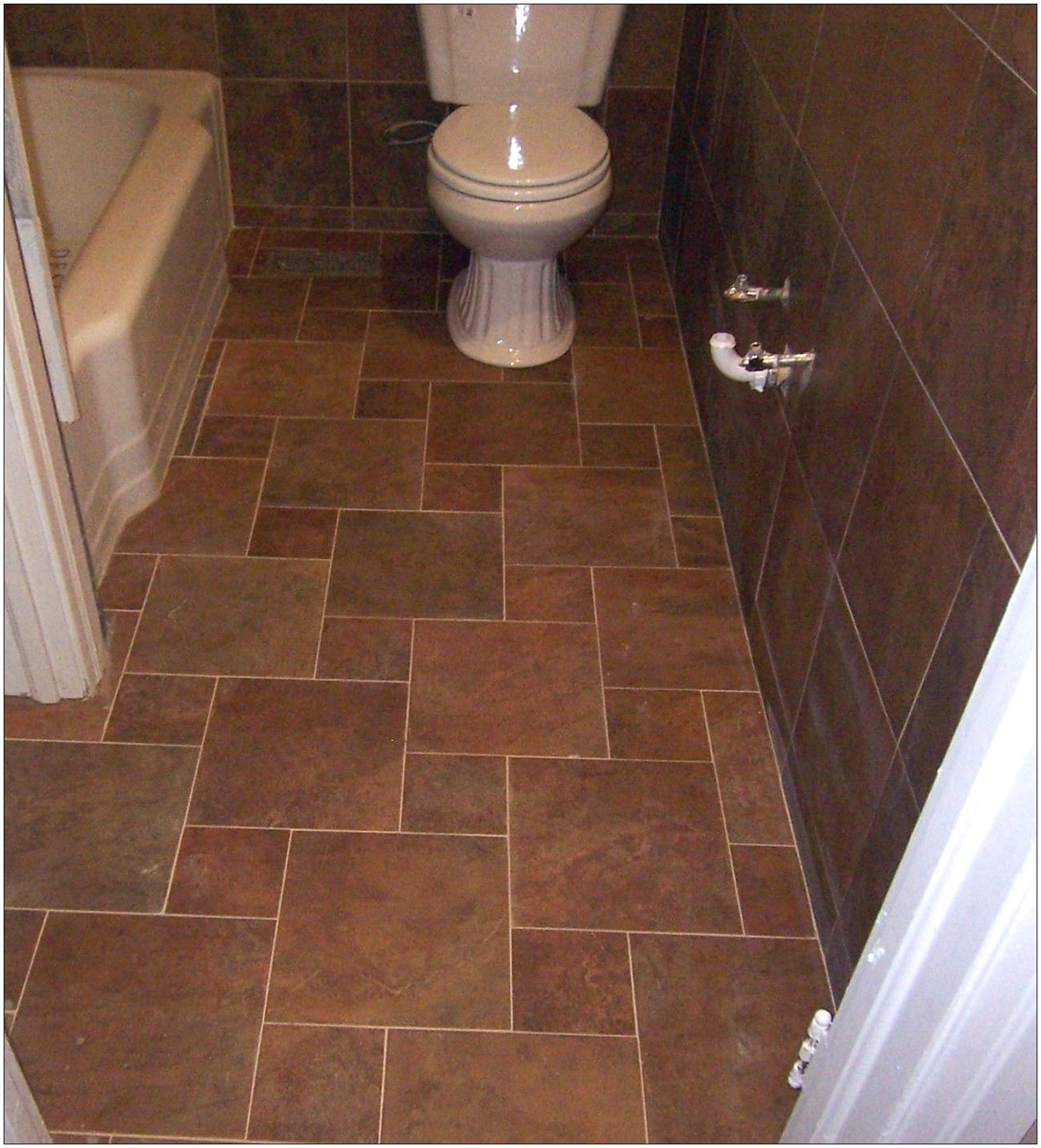 bathroom floor tiles for small bathrooms | Downstairs Bath ...