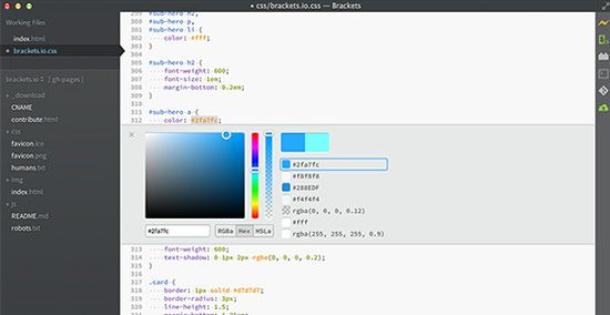 A New Breed Of Free Source Code Editors Six Revisions Open Source Code Web Development Tools Coding