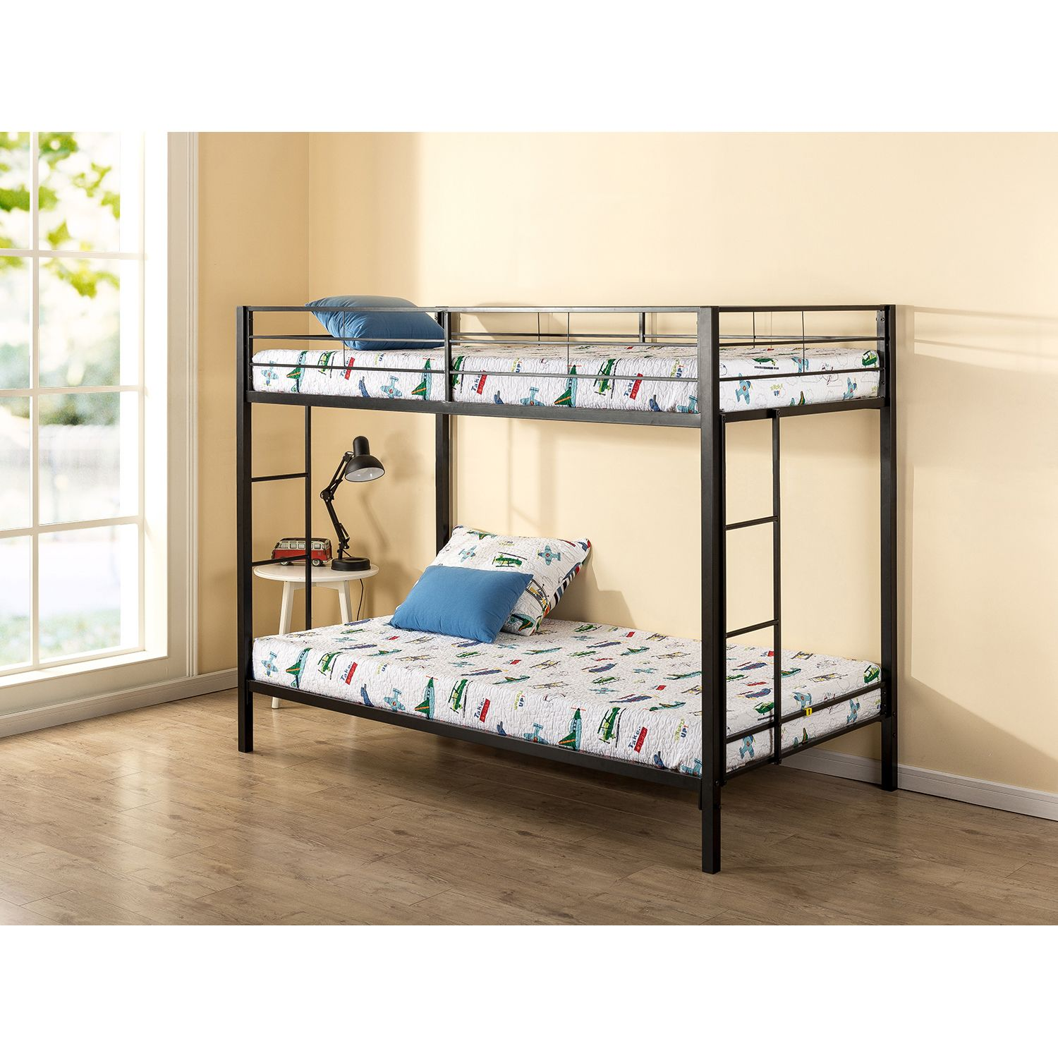 Buy Mainstays Twin Over Twin Metal Bunk Bed at