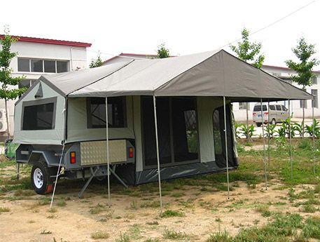 12ft Camper Trailer Tent Model Ctt6005 B Soft Floor Camper Trailer Tent Camper Trailers Trailer Tent