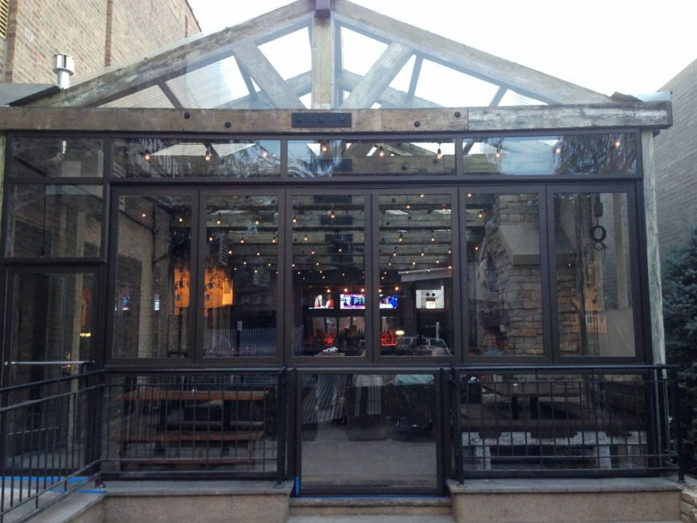 Restaurant patio enclosures  Getting an Enclosure for Your Restaurant Patio | DynaDome Custom ...