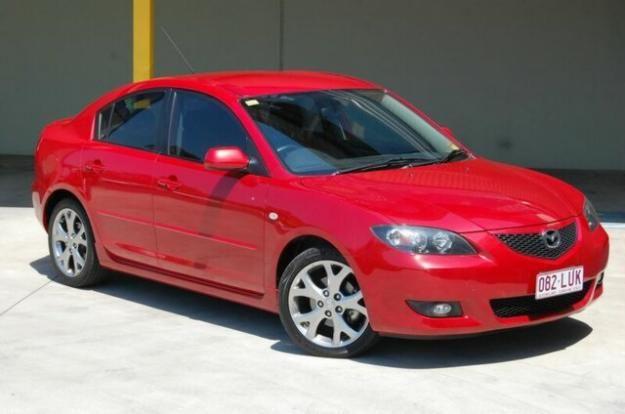 2005 mazda 3 bk maxx sport red 4sp. (my first car since 2010) | cars