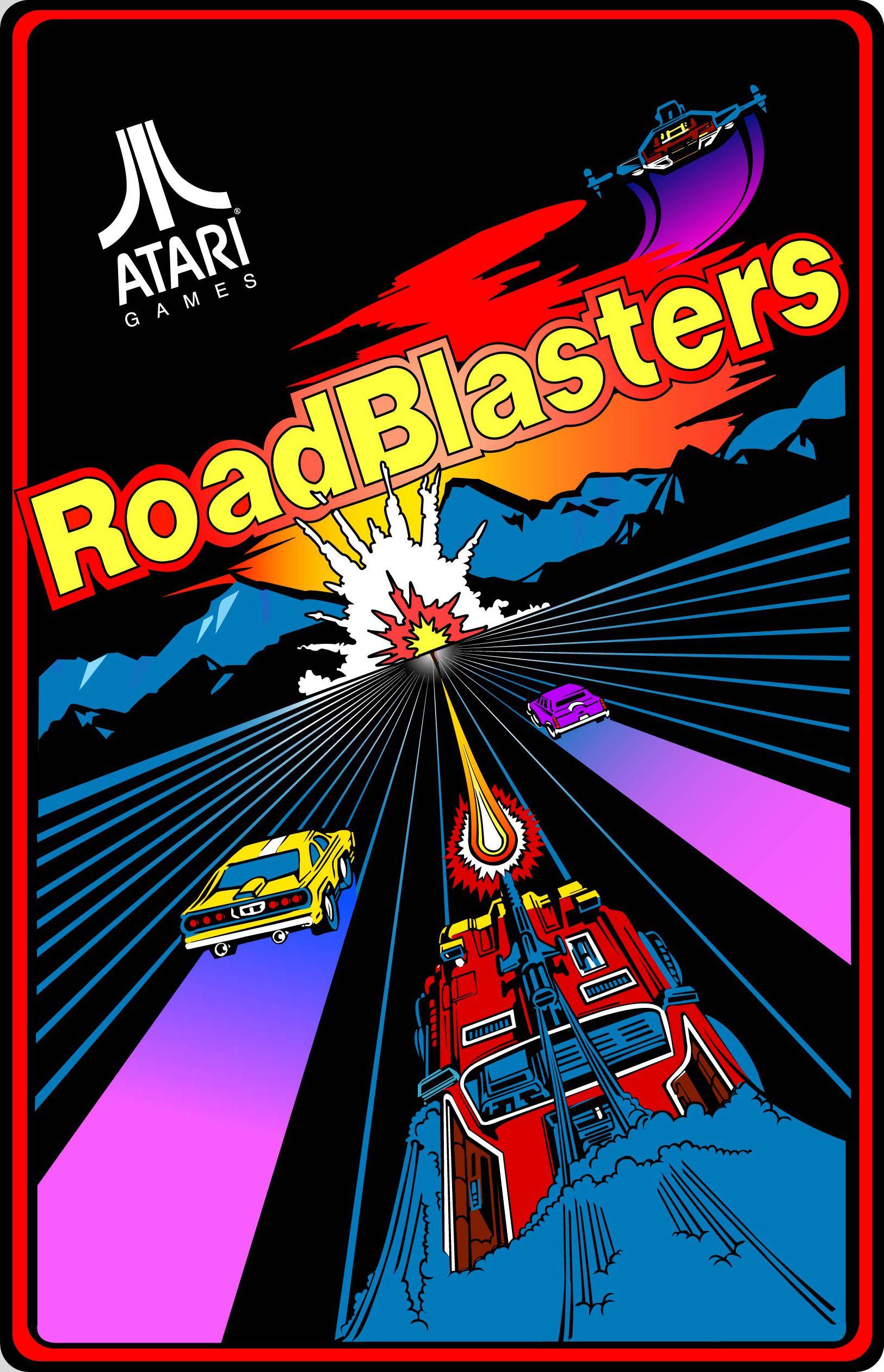 Roadblasters Arcade Game Arcade Arcade Games Retro