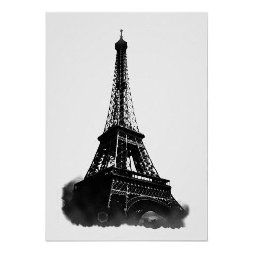 Tower · black white vintage eiffel