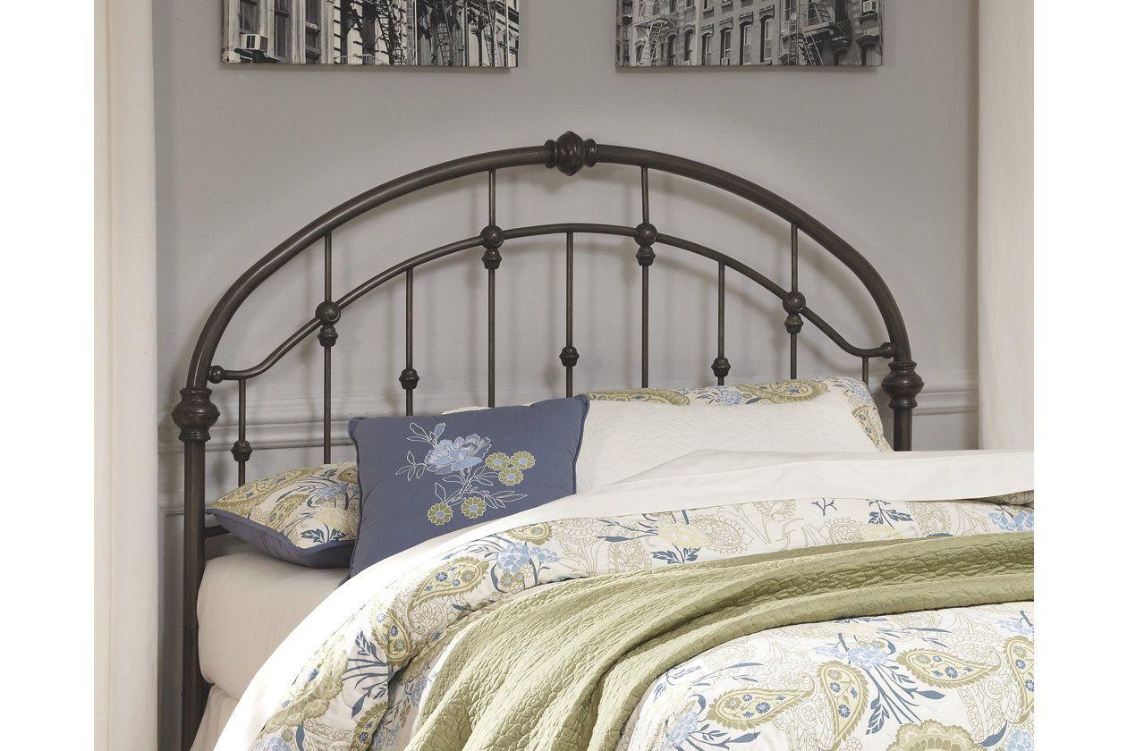 Nashburg Queen Metal Headboard | Ashley Furniture HomeStore ...