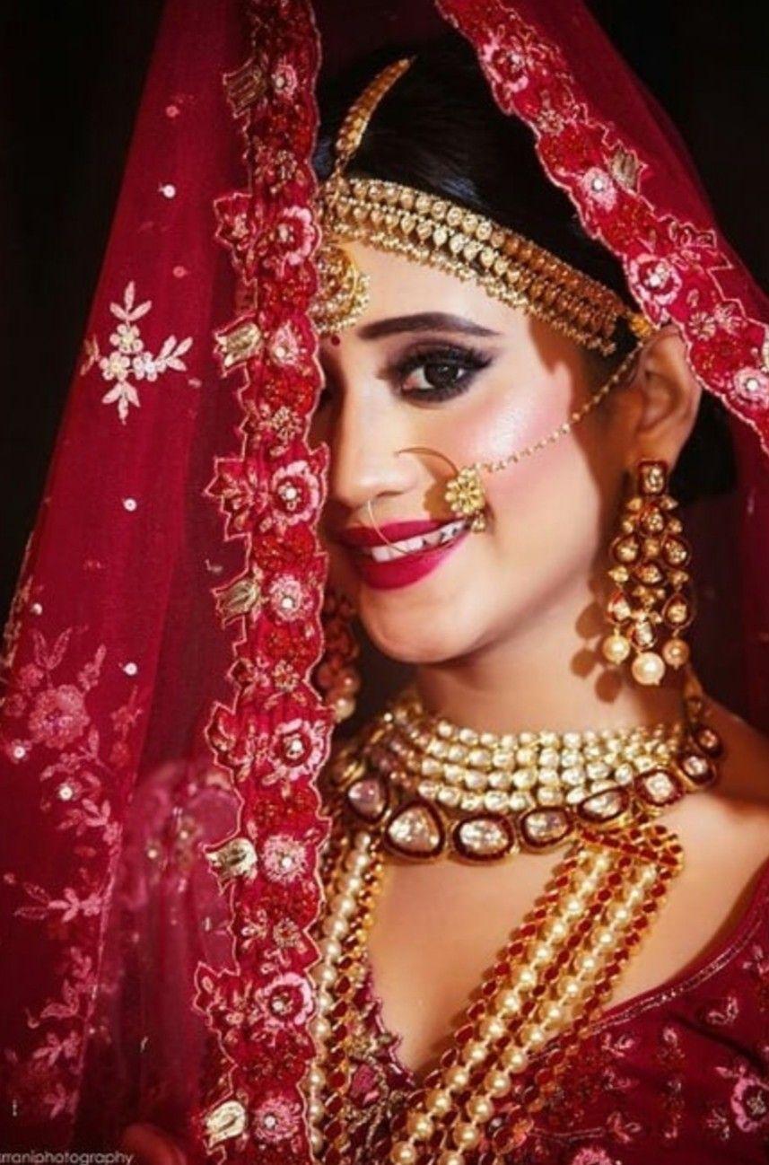 Follow me Sharanya Mathur Indian bridal makeup, Bride