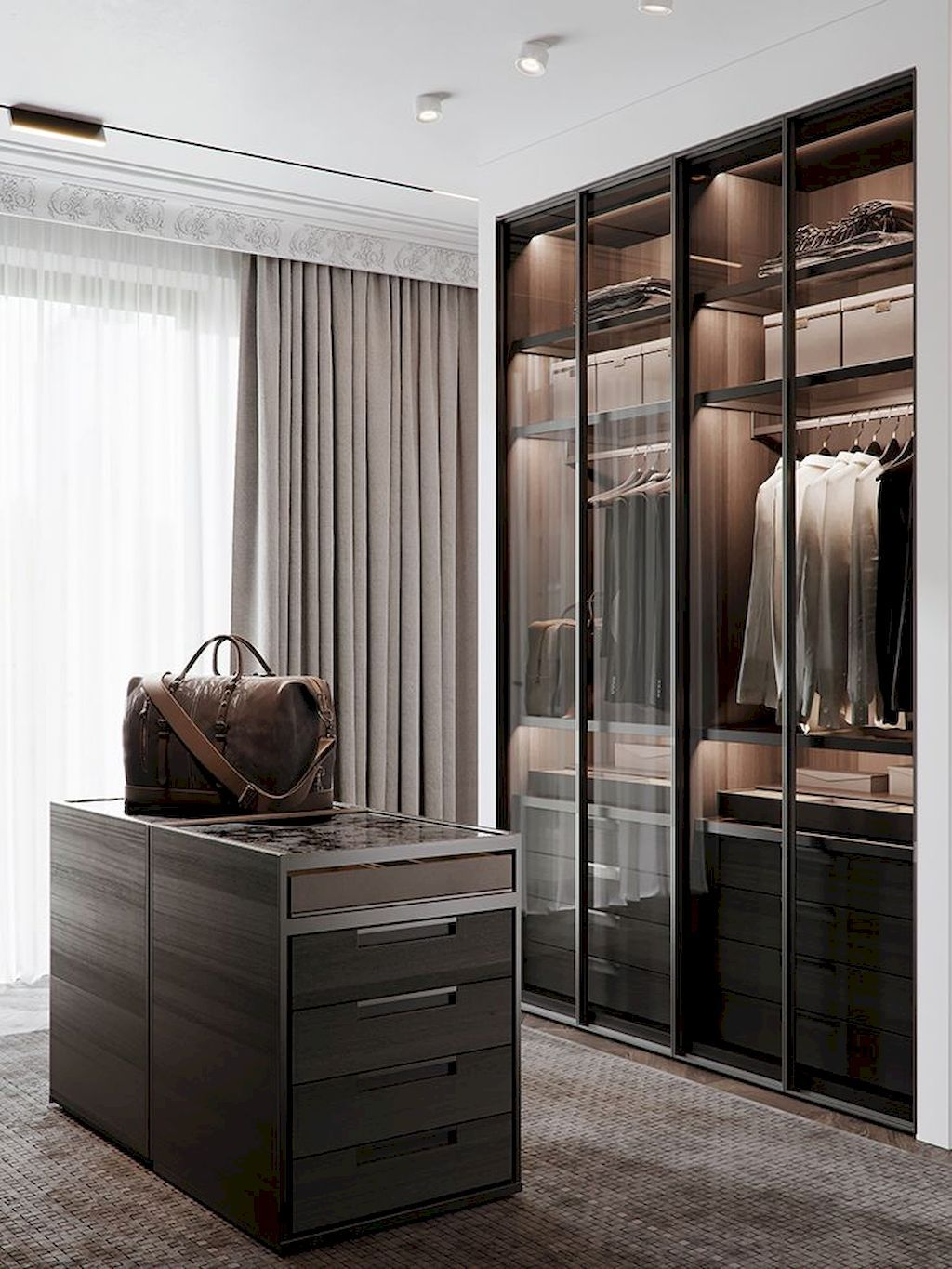 Dress Room Design: The Way To Create Your Personal Customized Wardrobe Design