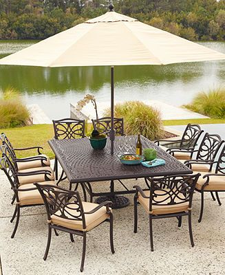 Kingsley Outdoor Patio Furniture Dining Sets Pieces Shop All