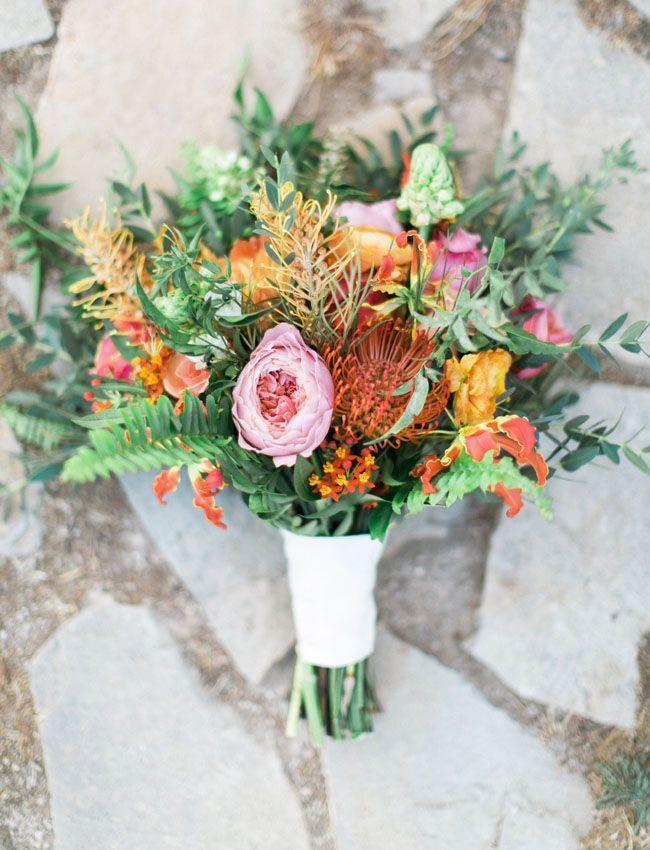 Hawaiian-Inspired Vineyard Wedding: Alyssa + Dana | Vineyard wedding ...