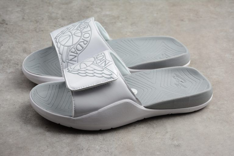 7f25876c9 Jordan Hydro Retro 7 Slide White Pure Platinum Sandals