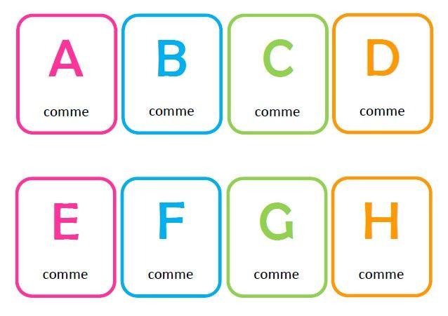 L Abecedaire Photographique Abc Printables Alphabet Education
