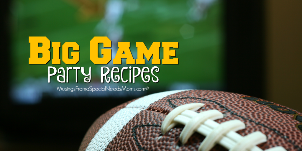 """Big Game"" Party Recipes"