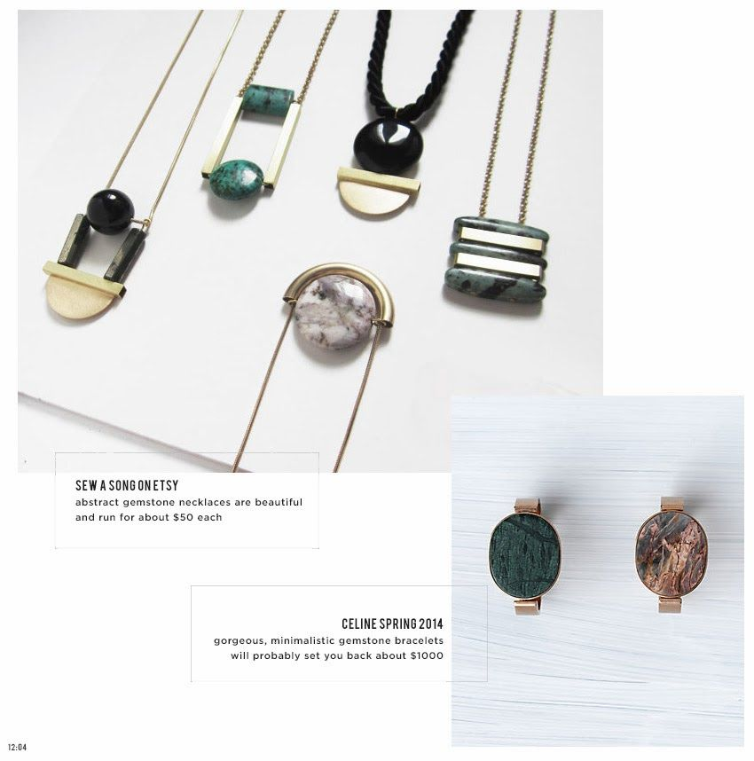 e15275d5672 12 04 twelve ofour  This or That  Céline Spring 2014 Jewelry or A Similar  One and Your Rent Paid