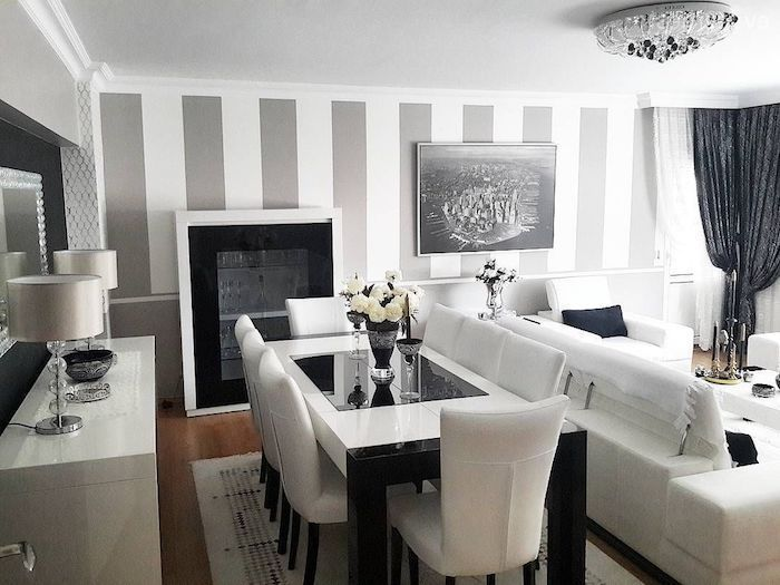 1001 Atemberaubende Ideen Fur Wandfarbe Grau Wohnzimmer