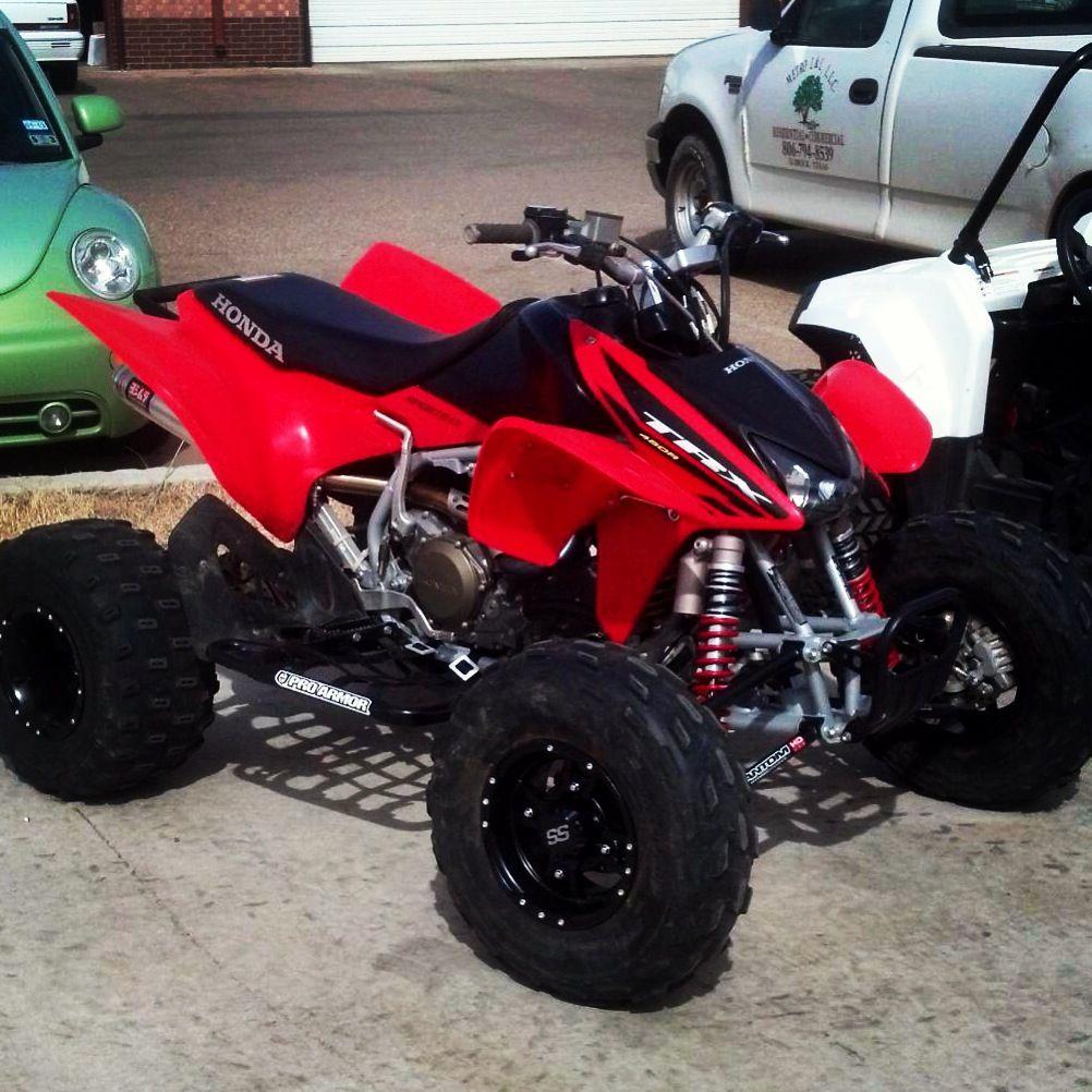 My baby 2004 Honda TRX 450r | Every Moto Counts ...