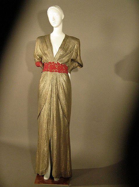 76c1216ec792 Madame Grès Gold lame  gown c. 1944