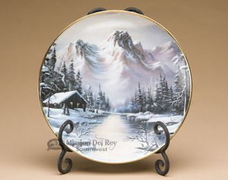 Southwestern Collector Plate \u0026 Stand from the Franklin Mint Heirloom Recommendation Limited Edition Collection - Peaceful & Southwestern Collector Plate \u0026 Stand from the Franklin Mint Heirloom ...