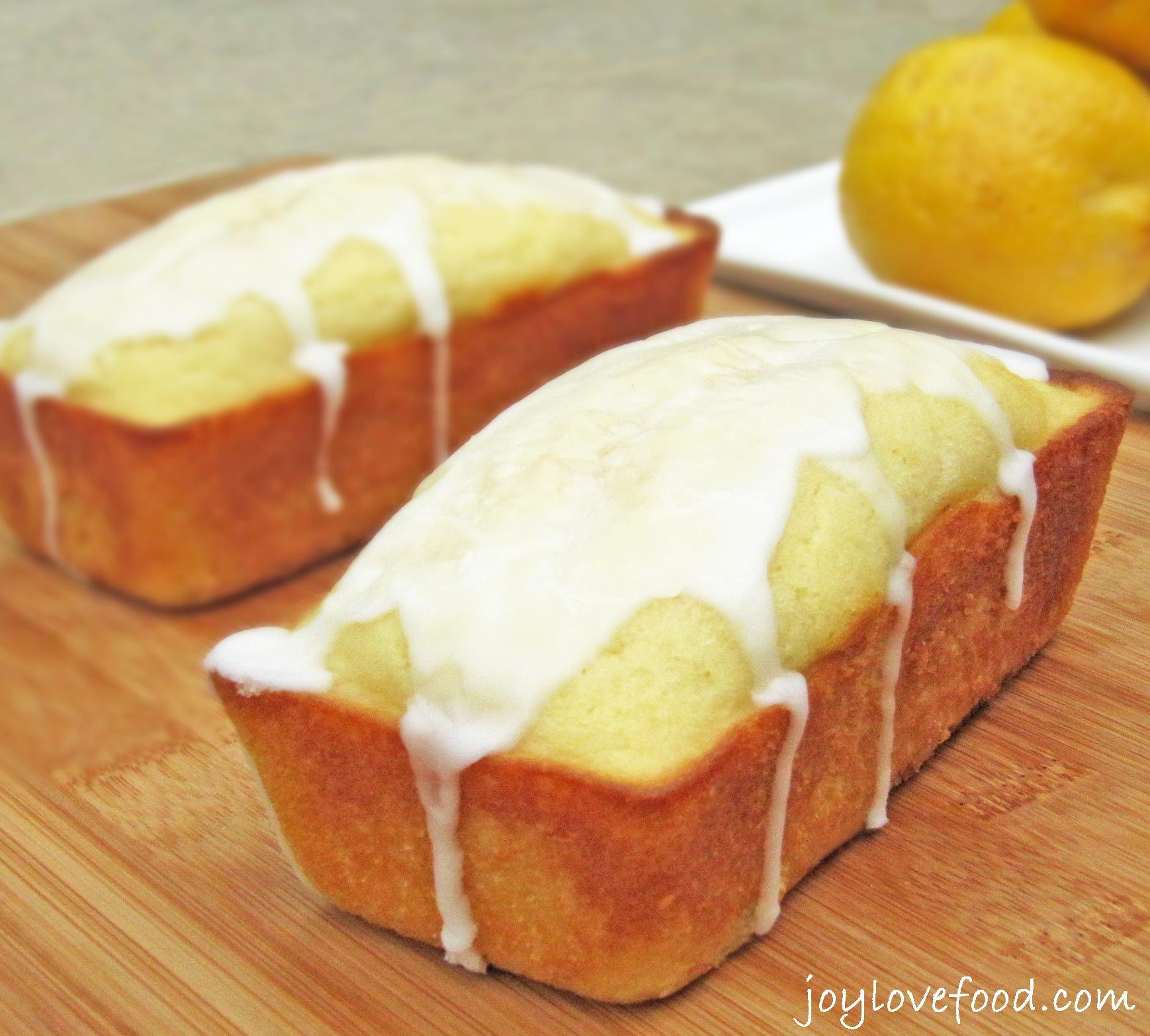 Lemon Buttermilk Mini Loaves Recipe Cakes Brownies