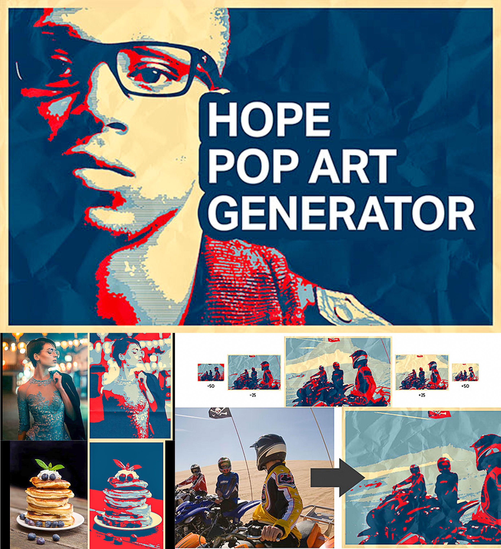 Hope Pop Art Generator Free Download Pop Art Obama Poster Hope Poster