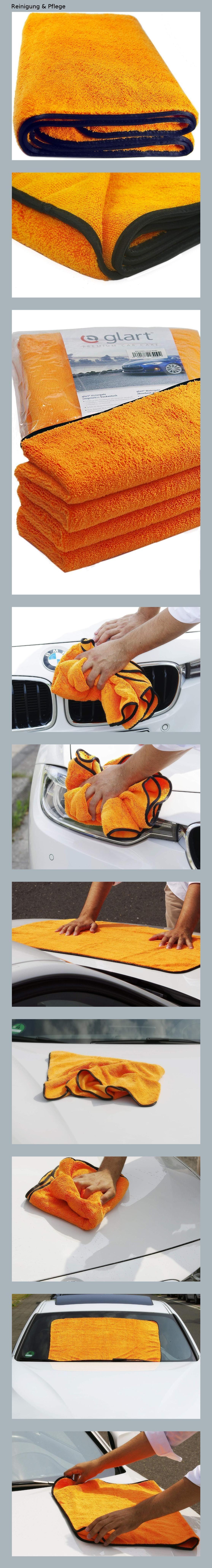 Orange Baby 44WG Watergate super-saugfähiges Mikrofaser Auto Trockentuch,