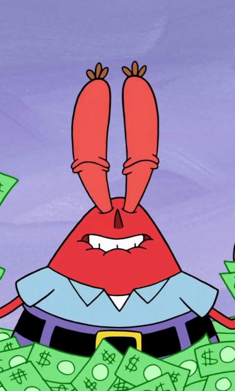 Mr. Krabs, SpongeBob SquarePants, tv series, cartoon
