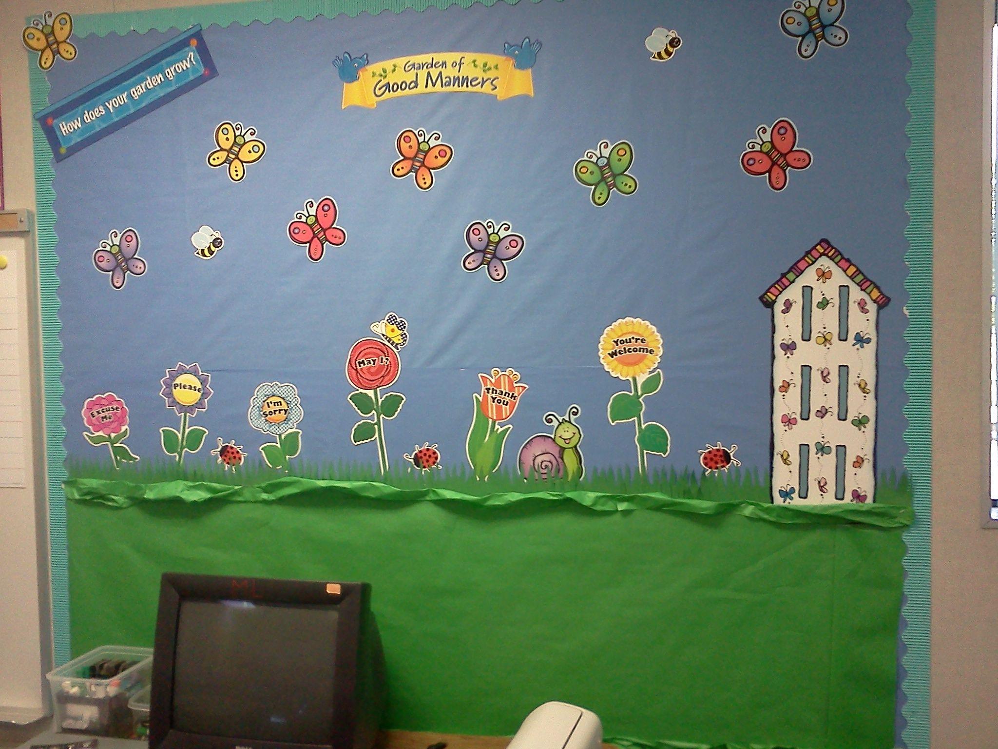 My Kindergarten Classroom Rden Of Good Manners
