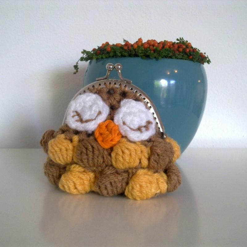 Little Owl Coin Purse « The Yarn Box The Yarn Box | Crochet Bag ...
