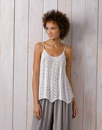 Heft Damen Chic 89 Frühjahr Sommer 1 Damen Top Weiß T Shirt