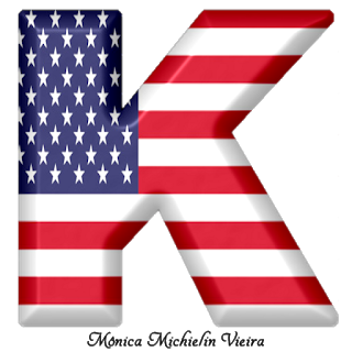 Abecedario Con La Bandera De Usa Usa Flag Alphabet Monogram Alphabet Patriotic Alphabet