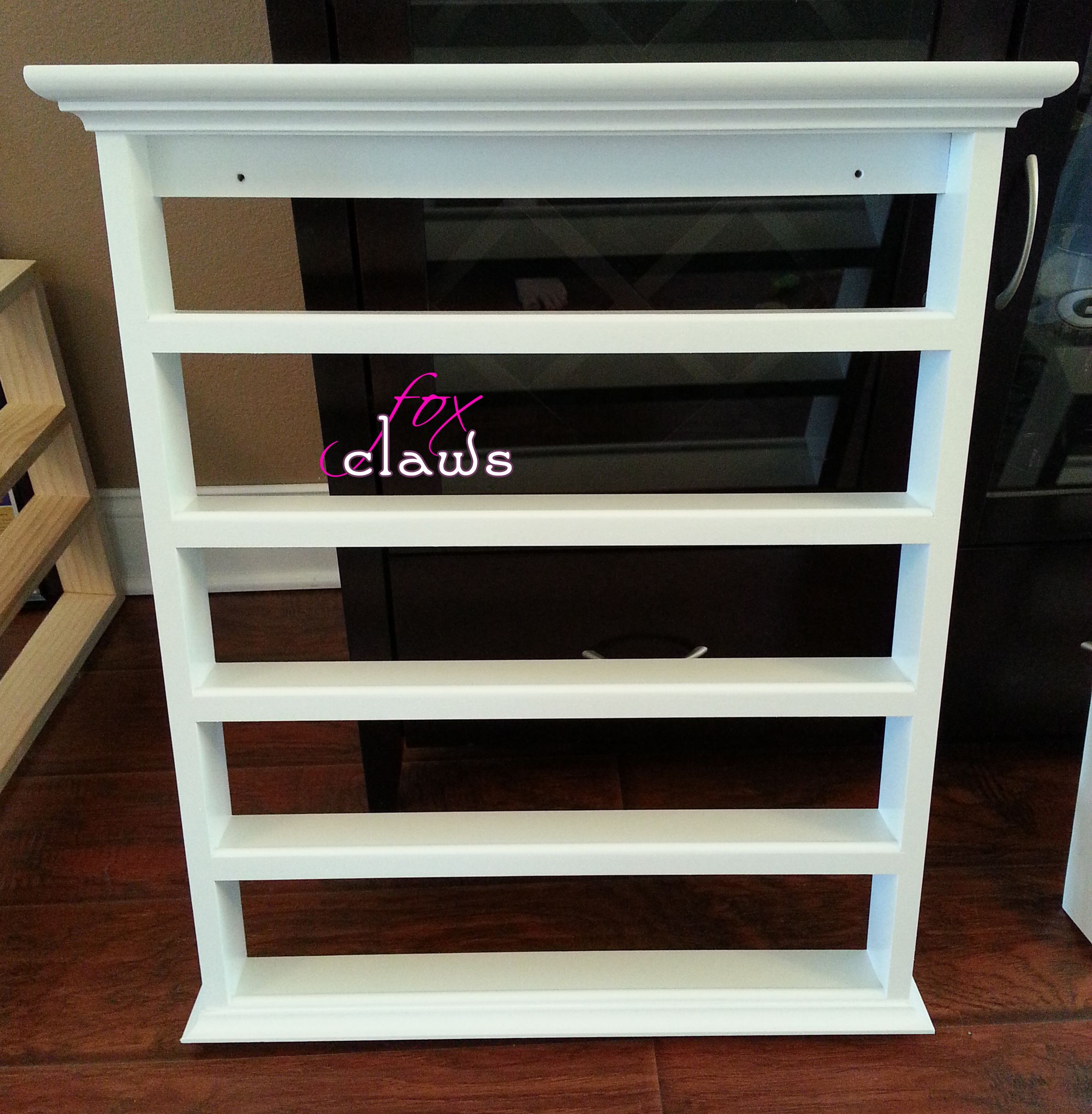 Nail Polish Rack @ Fox Claws   FOR THE HOUSE   Pinterest   Muebles ...