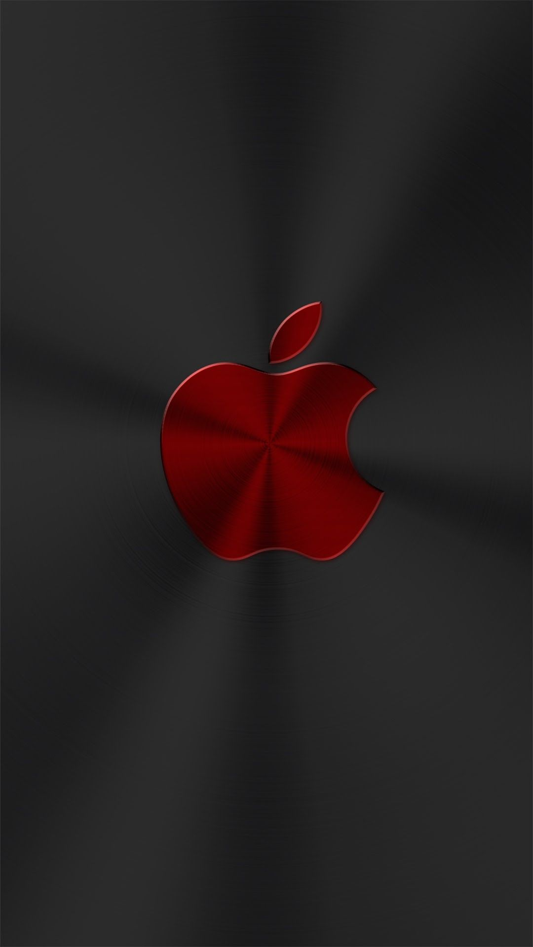 Red Chrome Apple Apple Wallpaper Apple Wallpaper Iphone Apple