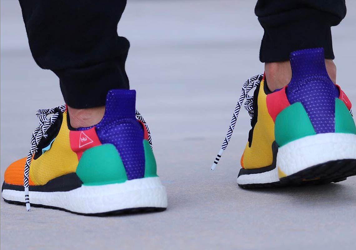 adidas Pharrell Ultra Boost Hu Solar