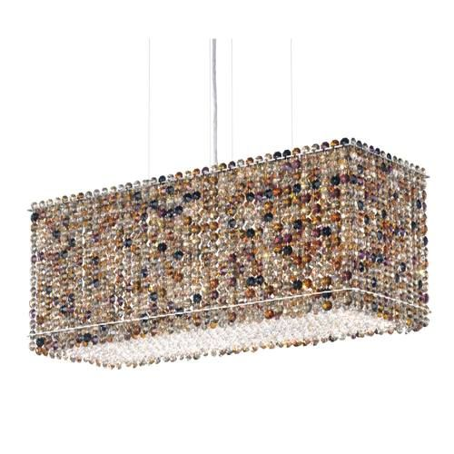 Schonbek Geometrix Mt2209 Matrix 6 Light Island Pendant