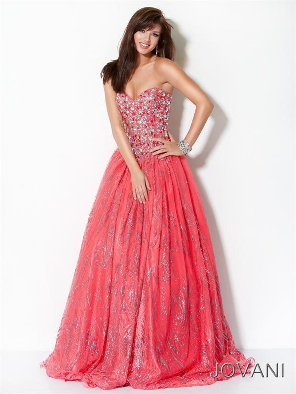 Vestidos Largos de Fiesta de Color Coral 17 | 15años | Pinterest