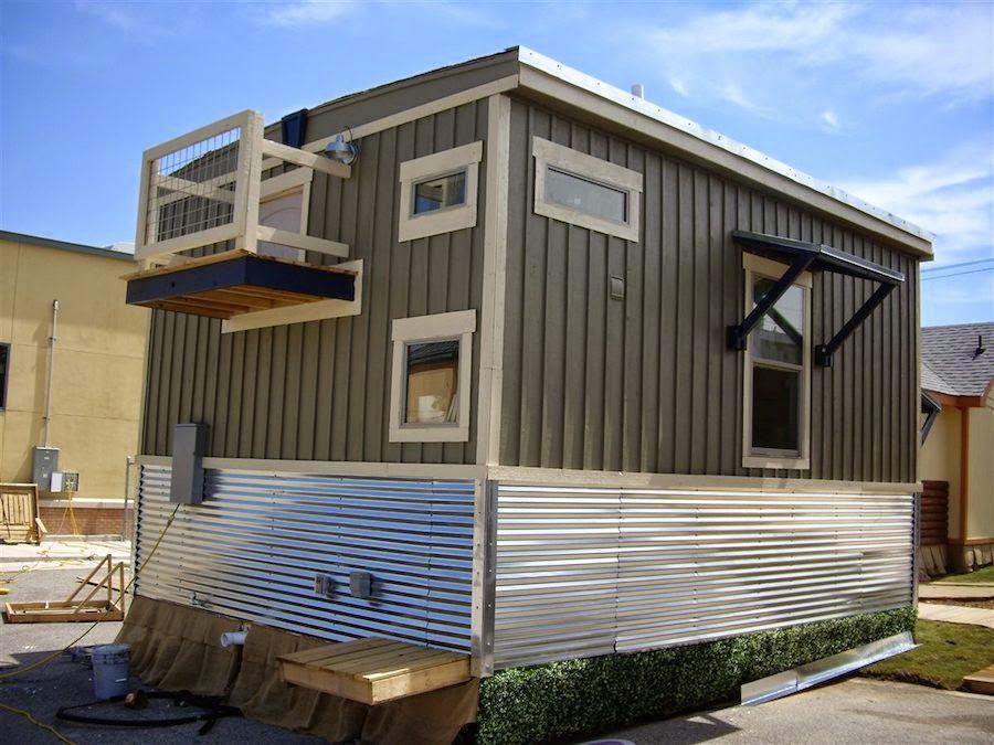 The Indian Blanket Loft | Tiny House France | Loft petite maison, Petit appartement, Petite maison