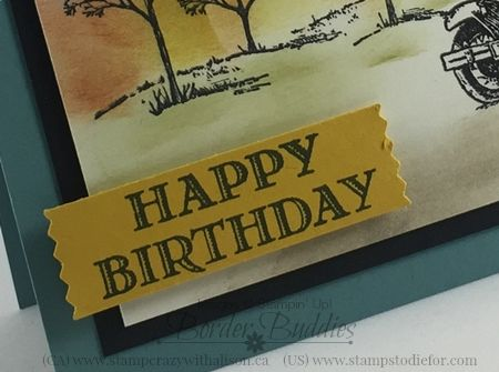 Happy Birthday Card, Guy Greetings stamp set #stampinup www.stampstodiefor.com 2