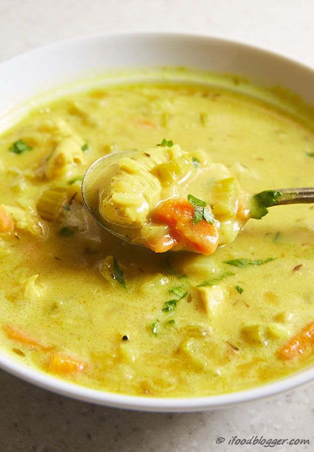 This is the best mulligatawny soup recipe. Period. Mildly spicy, with mild curry flavor and beautiful color. Try it with beef and and caramelized mushrooms too. Every variation of this soup is marvelous. I've been getting numerous compliments for this soup. Don't wait, go make it now! #mulligatawnysoup
