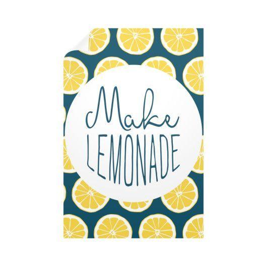 Make Lemonade Wall Decals