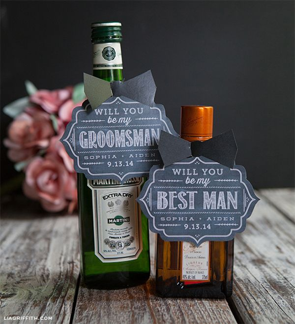 Will You Be My Groomsman Ideas 10 Ways To Pop The Question Gift Tagsbe Groomsmangroomsman Giftswedding