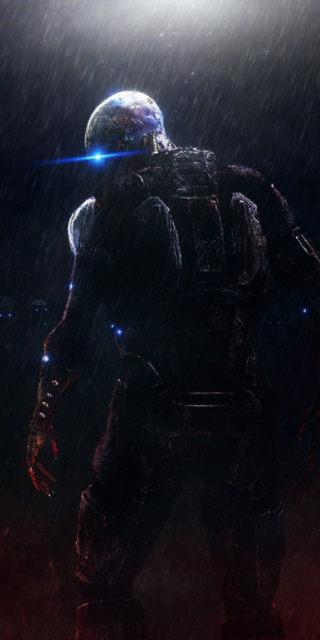 Dark Ascension Mass Effect Trilogy Video Game Soldiers Art