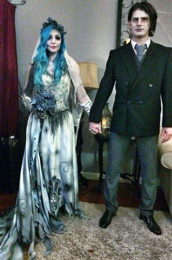 Corpse bride costume diy fashion 18