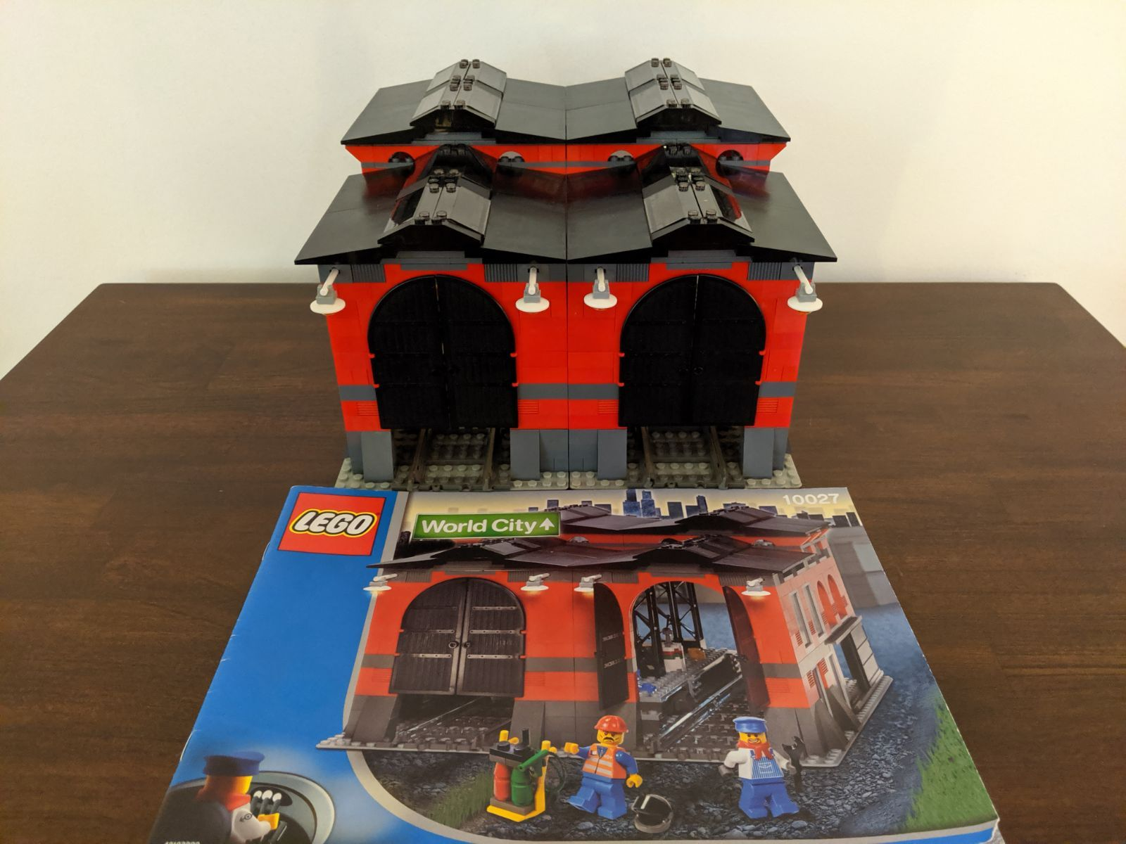 Lego World City Train Shed This Is Is 100 Percent